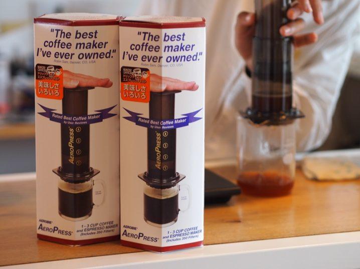 エアロプレスコーヒーとは