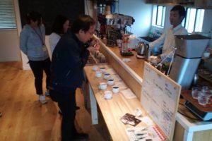 熊本コーヒーカッピング