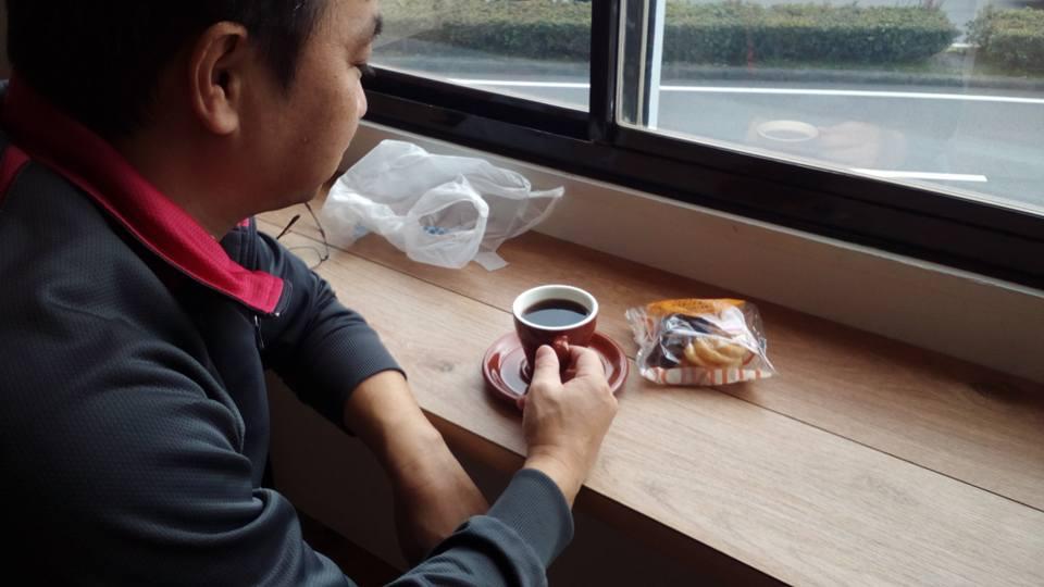 ご近所の南区川尻町の方がカフェタイムにご来店【熊本のコーヒー店わたる】