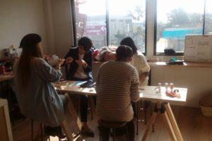 熊本市内コーヒーワークショップ