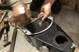 熊本コーヒー焙煎機メンテナンス