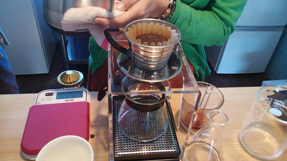 出張ドリップコーヒートレーニング【熊本市南区珈琲豆専門店わたる】