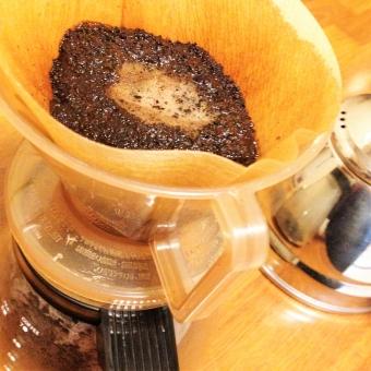 コーヒーかす再利用